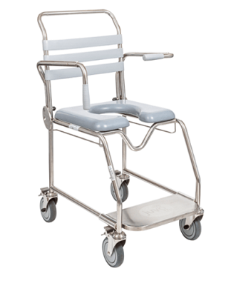 Shower-Commode-Stainless-Steel-Transit-Padded