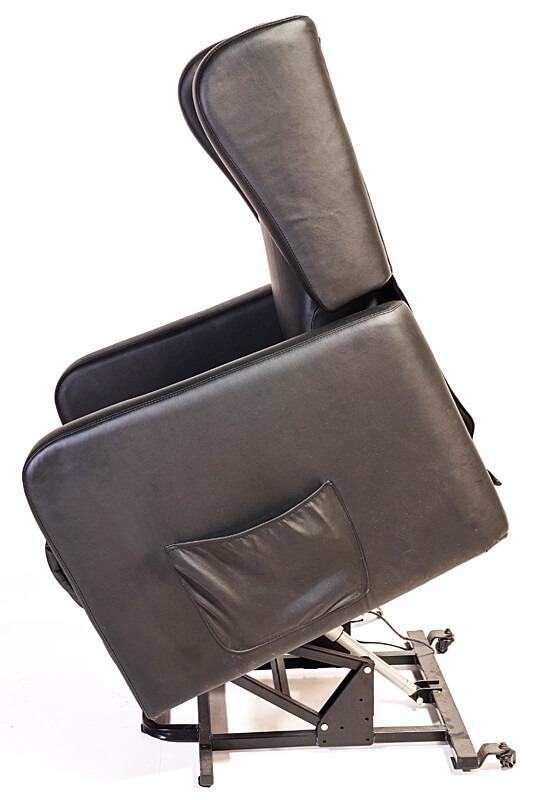 black recliner for disabled
