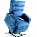 blue lift out chair