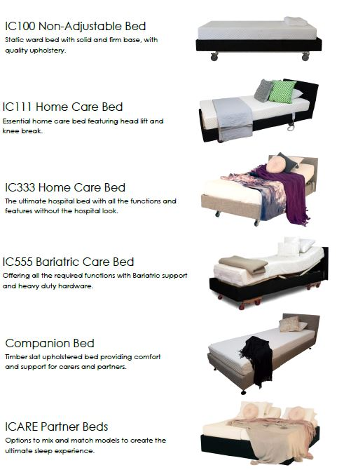 ICare Bed options